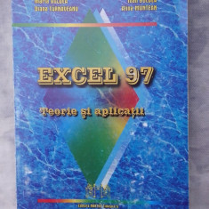 Excel 97 - Teorie si aplicatii - Carte Microsoft Office
