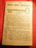 Cheia Limbii Esperanto 1921