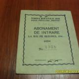 Abonament Bai Populare Arad 1944