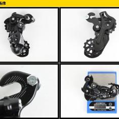 Schimbator Shimano Tourney, RD-TX55-SGS, 6/7 VIT, prindere pe ax - Piesa bicicleta Shimano, Schimbatoare pinioane