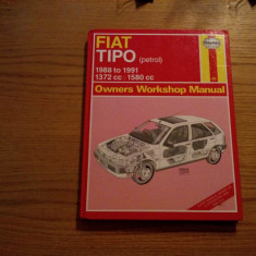 FIAT TIPO * Owners Workshop Manual - 1988 to 1991 * 1372cc = 1580cc