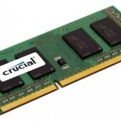 Crucial Memorie RAM CT4G3S1339MCEU, SODIMM, DDR3, 4 GB, 1333MHz, C9, pentru MAC