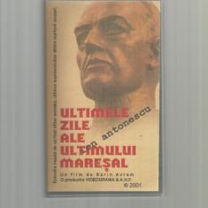 Caseta video - Sorin Avram - Ultimele zile ale ultimului maresal - Film Colectie, Romana