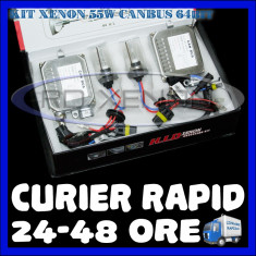 Kit Xenon BOORIN CANBUS 64bit DIGITAL 55W - H1, H3, H7, H10, H11, H27, HB3, HB4, HB5