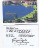 Pentru colectionari, card plastic membru Westgate Lakes Resort, Orlando, Florida