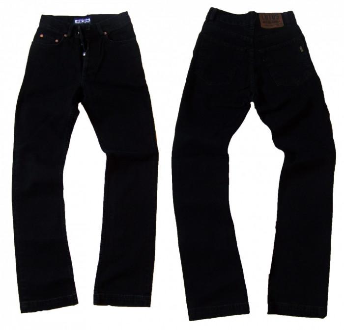 Blugi dama - talie inalta - negri - LOTUS jeans W 26 (Art.F21-F35)