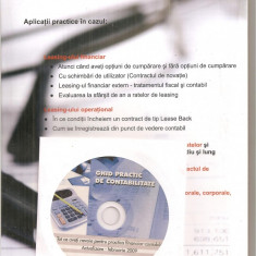 (C6265) GHID PRACTIC DE CONTABILITATE FEBRUARIE 2009, LEASING FINANCIAR... CU CD - Carte Contabilitate, Art