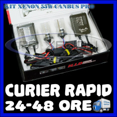 Kit Xenon BOORIN 55W - 24V CAMION CANBUS PRO - H1, H3, H7, H10, H11, H27, HB3, HB4, HB5