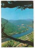 % carte postala (ilustrata)-Valea Oltului la Caciulata, Circulata, Printata