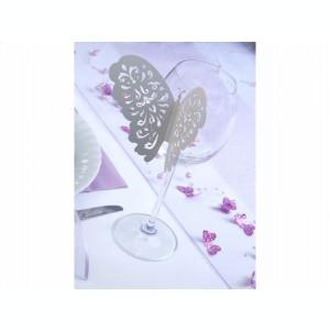 Fluturi decorativi, 10buc/set