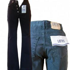 Blugi dama - gri - talie inalta - LOTUS jeans W26  (Art.F12-F14)