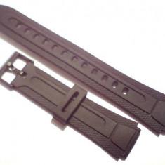 Curea ceas Casio AW-81, ~WVA-105, MTD-1057, MRP-700, AQ-164-190, dar si alte modele.