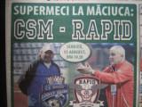 CSM Rm.Valcea - Rapid Bucuresti (15 august 2015), meci amical, promovat 2 ziare