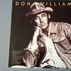 DON WILLIAMS - GREATEST HITS (1975/ ABC REC/ RFG ) - VINIL/VINYL/COUNTRY - Muzica Rock emi records