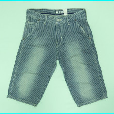 DE FIRMA _ Pantaloni scurti bumbac, practici, H&M _ baieti | 11 - 12 ani | 152, Marime: Alta, Culoare: Bleumarin