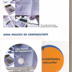 (C6264) GHID PRACTIC DE CONTABILITATE SEPTEMBRIE 2008, STOCURI... CU CD - Carte Contabilitate, Art