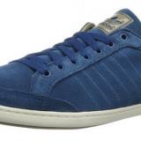 Adidasi originali femei ADIDAS-cutie-din piele naturala-tenisi dama-36 2/3 - Adidasi dama, Culoare: Albastru