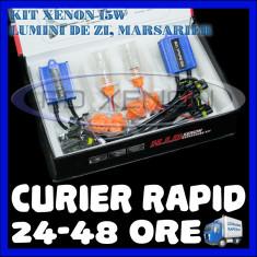 Kit Xenon BOORIN CANBUS 15W - P21W, 1156, BA15S, T10, W5W, T20, W21W - DRL, MARSARIER