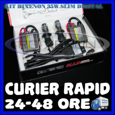 KIT BIXENON SLIM DIGITAL 35W - H4 - 4300K, 5000K, 6000K, 8000K - GARANTIE 1 AN