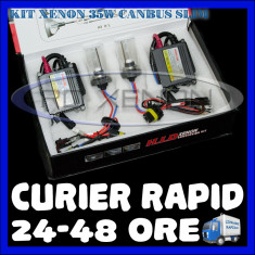 Kit Xenon BOORIN CANBUS SLIM DIGITAL 35W - H1, H3, H7, H10, H11, H27, HB3, HB4, HB5