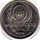LOT 50 monede - BU-10 LEI-1996-WORLD FOOD SUMMIT-ROME - Moneda Romania