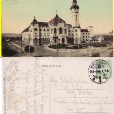 Targu Mures- rara - Carte Postala Transilvania 1904-1918, Circulata, Printata