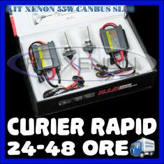 Kit Xenon BOORIN CANBUS SLIM DIGITAL 55W - H1, H3, H7, H10, H11, H27, HB3, HB4, HB5