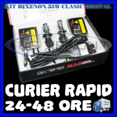 KIT BIXENON CLASIC DIGITAL 35W - H4 - 4300K, 5000K, 6000K, 8000K - GARANTIE 1 AN
