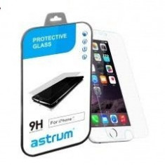 Folie Protectie Ecran Apple Iphone 5C/5S Tempered Glass ASTRUM - Folie de protectie Apple, Anti zgariere