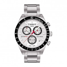 Ceas Tissot PRS 516 barbatesc cronograf ecran alb - Ceas barbatesc Tissot, Casual, Quartz, Inox
