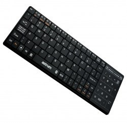Astrum Bluetooth 3.0 keyboard with touchpad black, Android/IOS foto