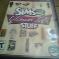 Joc PC - The Sims 2 - Glamour Life stuff - BOX SET (GameLand) - Jocuri PC Electronic Arts, Simulatoare, 12+, Single player