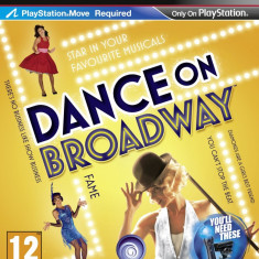 PS3 Dance On Broadway original Play Station 3 Move - Jocuri PS3 Ea Games, Arcade, 3+, Multiplayer