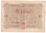UNGARIA 5 FORINT 1848 VF