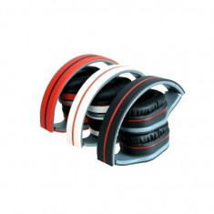 Astrum Headset cu Microfon HS-730 Alb/Roz Blister, Casti On Ear, Cu fir, Mufa 3, 5mm, Active Noise Cancelling