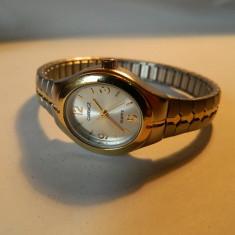 Ceas de dama CARRIAGE (by Timex), otel, bratara expandabila - Ceas dama Timex, Casual, Quartz, Metal necunoscut, Piele - imitatie, Analog