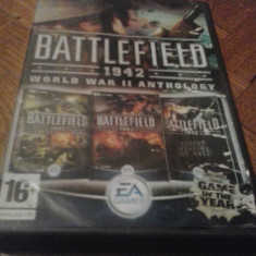 Joc PC Electronic Arts -Battlefield 1942 World War II Anthology 3 in 1 (BOX SET) ( GameLand ), Shooting, 18+, Single player
