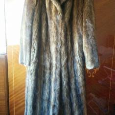 Haina din blana de nurca marimea 40, este noua! - haina de blana