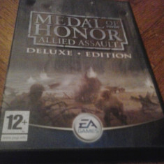 Joc PC Electronic Arts Medal of honor Allied assault Deluxe ED. (+ Spearhead+Sound) (GameLand), Shooting, 16+, Single player