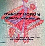 Bancnota 20 Coroane - CEHOSLOVACIA, anul 1970 UNC