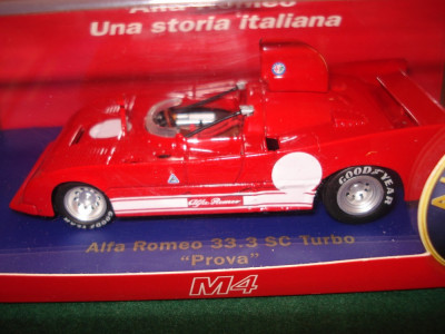 Macheta Alfa Romeo 33.3 SC Turbo M4 scara 1:43 foto