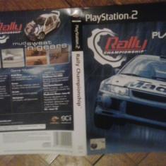 Coperta - Rally Championship - PS2 ( GameLand )