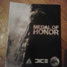 Manual - Medal of Honor - PS3 ( GameLand )