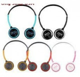 Astrum Headset cu Microfon HS-221 Rosu/Negru Blister, Casti On Ear, Cu fir, Mufa 3,5mm
