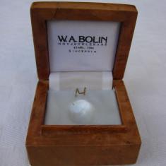 Frumoasa cutie din lemn pentru bijuterii, perioada anilor 1950