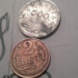 2 LEI 1947/18+cadou 500 lei rege mihai - Moneda Romania