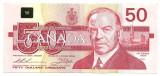 CANADA 50 DOLLARS DOLARI 1988 XF