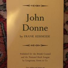 John Donne / Frank Kermode