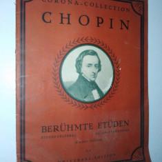 Partitura veche-CORONA COLLECTION-CHOPIN- piano solo C.17