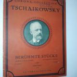 Partitura veche-CORONA COLLECTION-TSCHAIKOWSKY- piano solo C.64